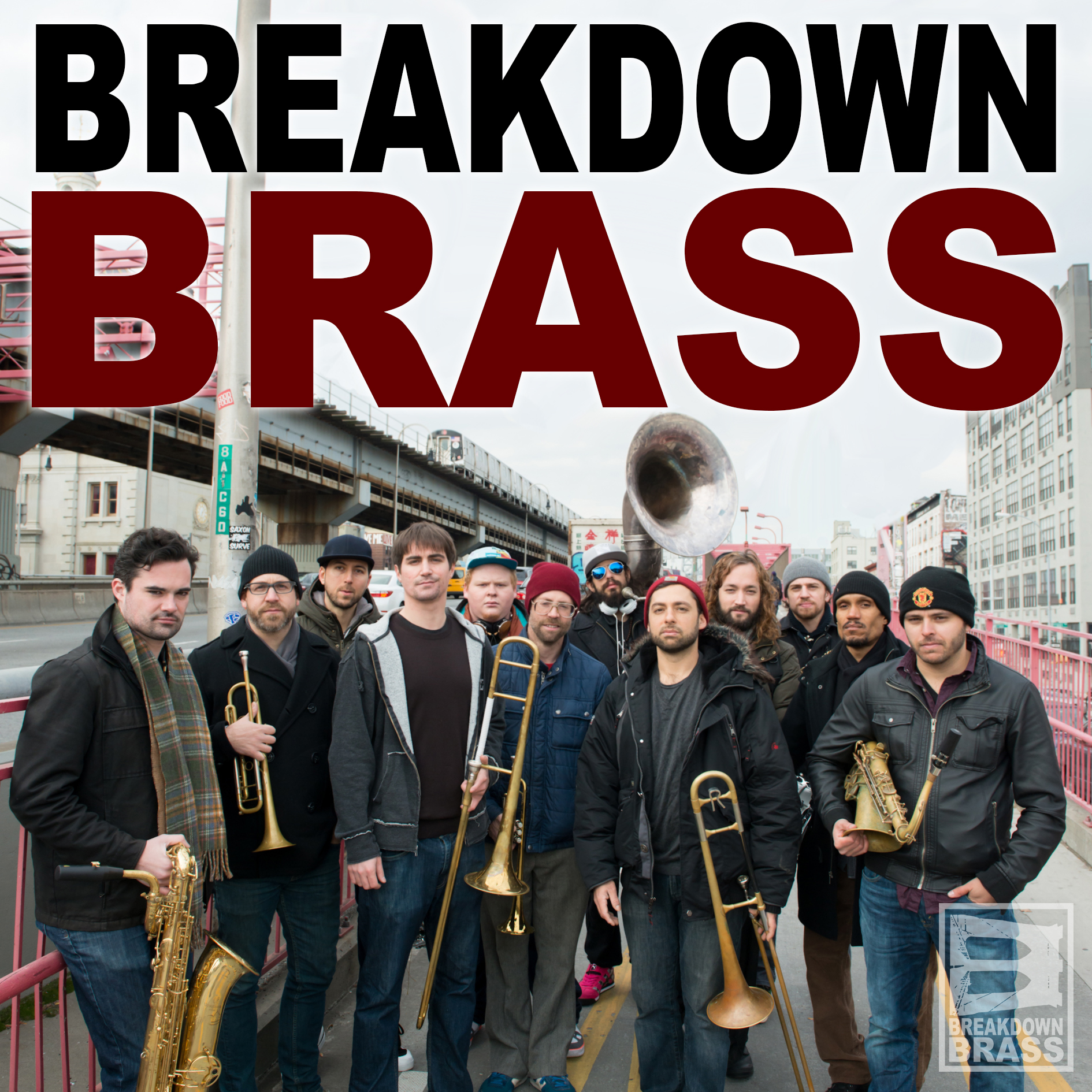Breakdown Brass Press Shot 1 square with text no logo